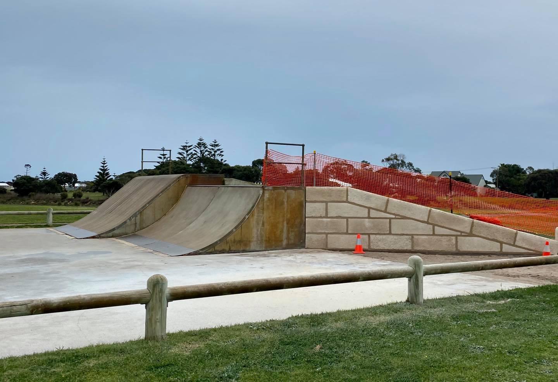 Kingston Skate Park Retaining Wall
