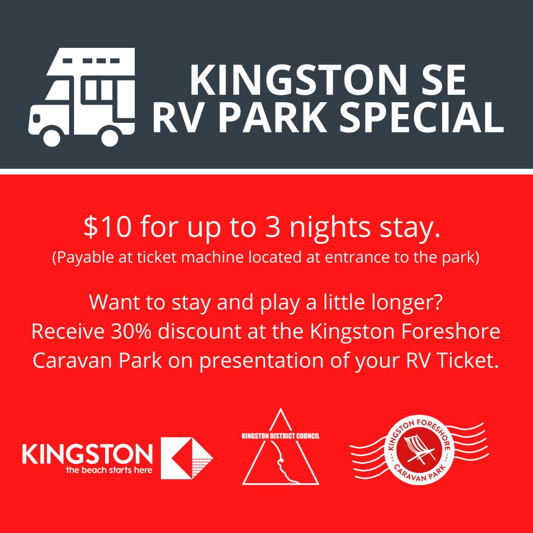 Kingston RV Park Special